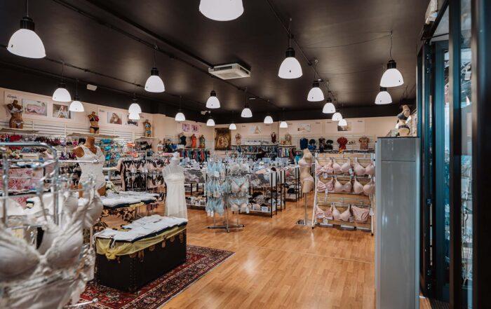illuminazione di negozi
